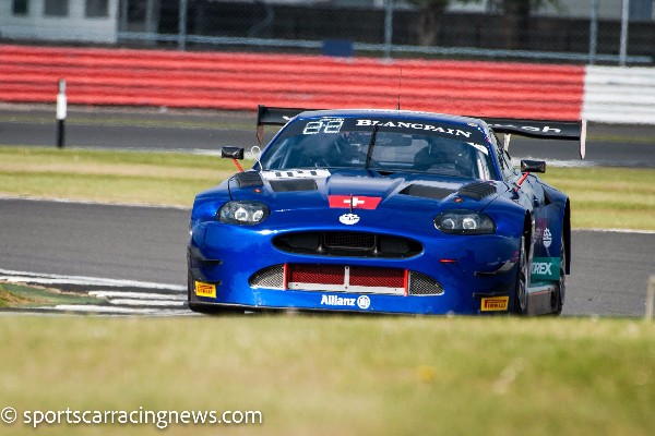 HOME RACE FOR GT3 JAGUAR OF EMIL FREY JAGUAR RACING AT SILVERSTONE