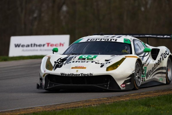 WEATHERTECH RACING FINISHES EIGHTH AT MID-OHIO