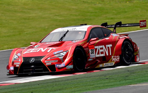 ZENT CERUMO LC500's TAKES SUPER GT POLE POSITION AT FUJI