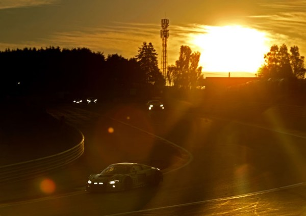 AUDI SPORT WITH ELEVEN CARS IN THE SPA 24 HOURS
