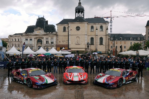EIGHT FERRARI CREWS GO FOR GLORY AT LE MANS