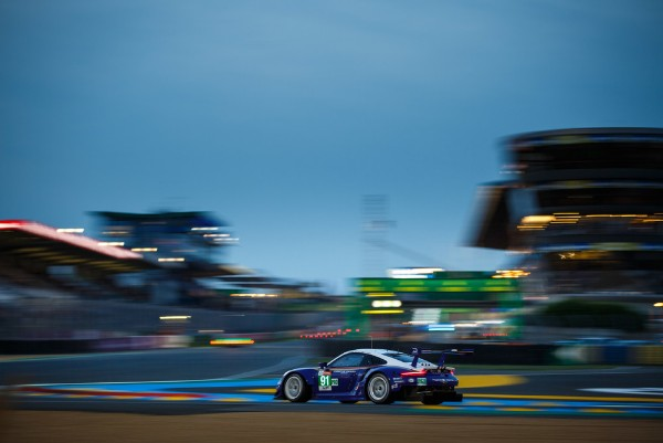 PORSCHE SETS THE BEST TIME IN THE FIRST LE MANS QUALIFYING SESSION