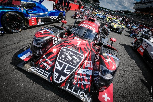 REBELLION RACING ON THE WAY TO THE 24 HOURS OF LE MANS