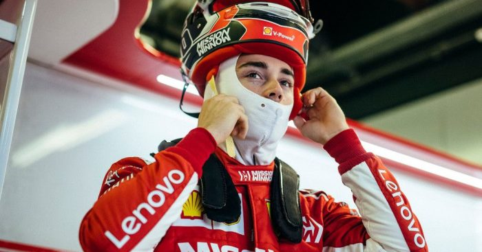 Leclerc fastest in final test of the season.