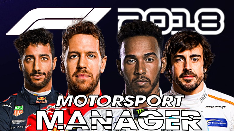 F1 2018 motorsports manager