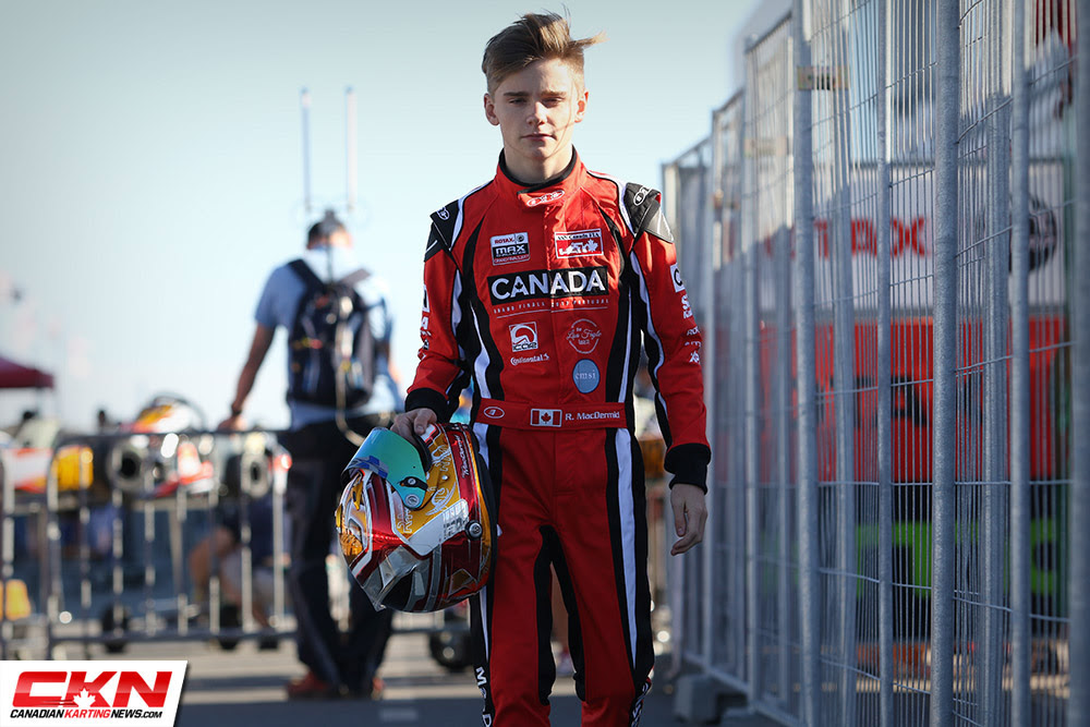 Ryan MacDermid has inked a deal with Alliance Racing Sponsored by Gas Monkey Energy to compete in the 2019 F4 United States Championship Powered by Honda Photo Canadian Karting News