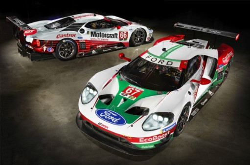 FORD CHIP GANASSI RACING REVEAL SPECIAL HISTORIC LIVERIES FOR ROLEX 24 ATDAYTONA