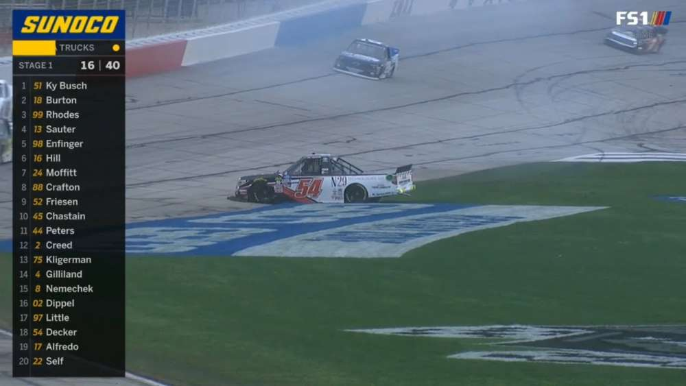 NASCAR Gander Outdoors Truck Series 2019. Atlanta Motor Speedway. Natalie Decker Spins_5c72bffd168c0.jpeg