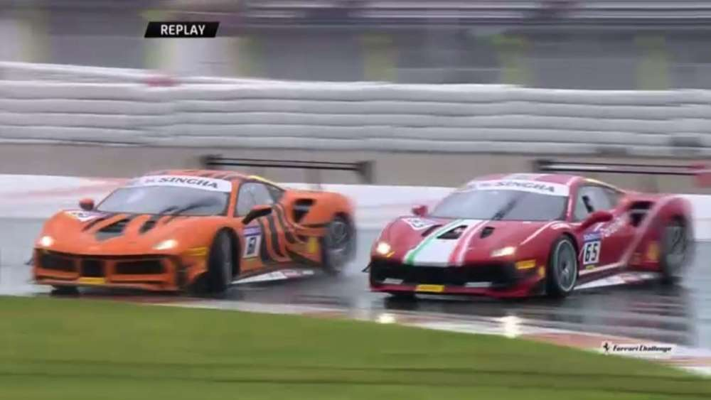 Ferrari Challenge Europe (Trofeo Pirelli) 2019. Race 2 Circuit Ricardo Tormo. Spins_5ca0be9611359.jpeg