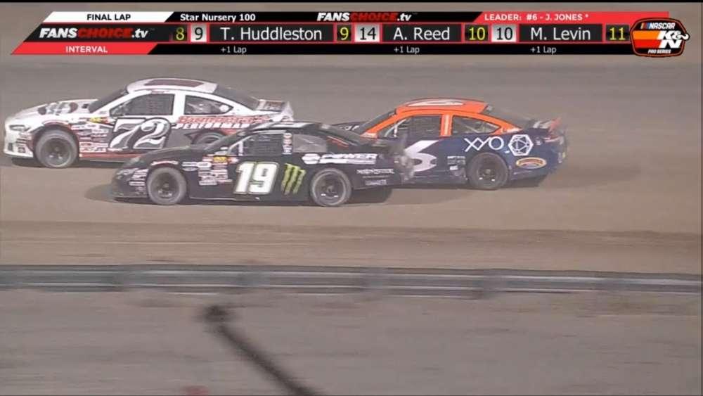 NASCAR K&N Pro Series West 2019. Las Vegas Motor Speedway Dirt Track. Last Laps_5c78eba8be5c8.jpeg