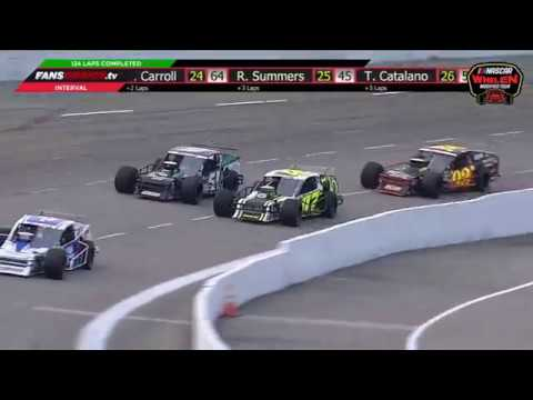 NASCAR Whelen Modified Tour 2019. Myrtle Beach Speedway. Last Laps | Finish Crash_5c8d905c88cbb.jpeg