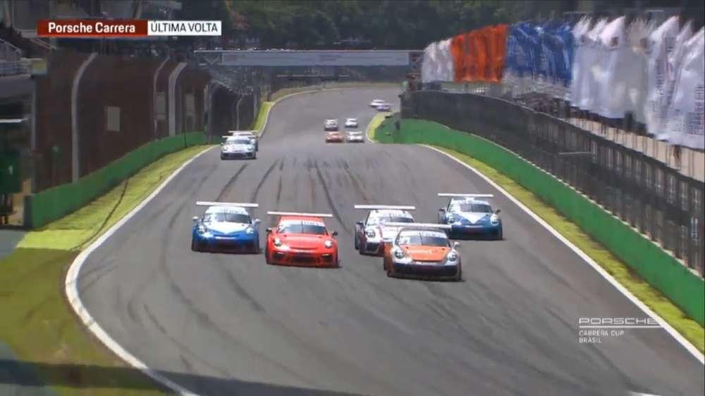 Porsche Carrera & GT3 Cup Challenge Brasil 2019. Race 2 Autódromo de Interlagos. Final Lap_5c8d2df2bc39d.jpeg