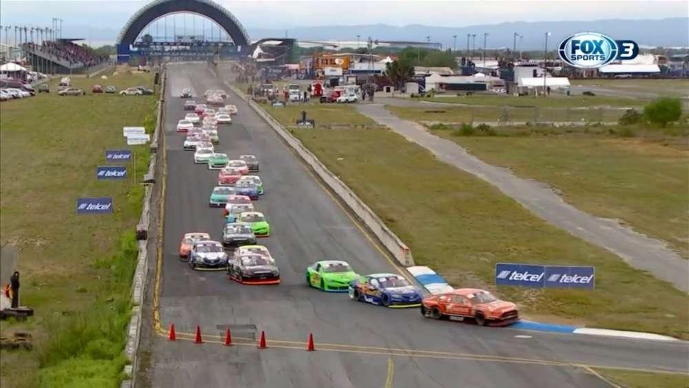 NASCAR PEAK Mexico Series 2019. Autódromo Monterrey. Start_5ca2774f7e4a7.jpeg