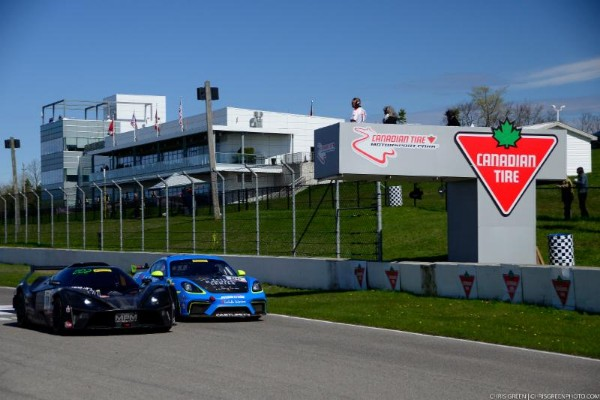 ELGHANAYAN VICTORIOUS OVER PUMPELLY IN GT4 AMERICA RACE ONEBATTLE