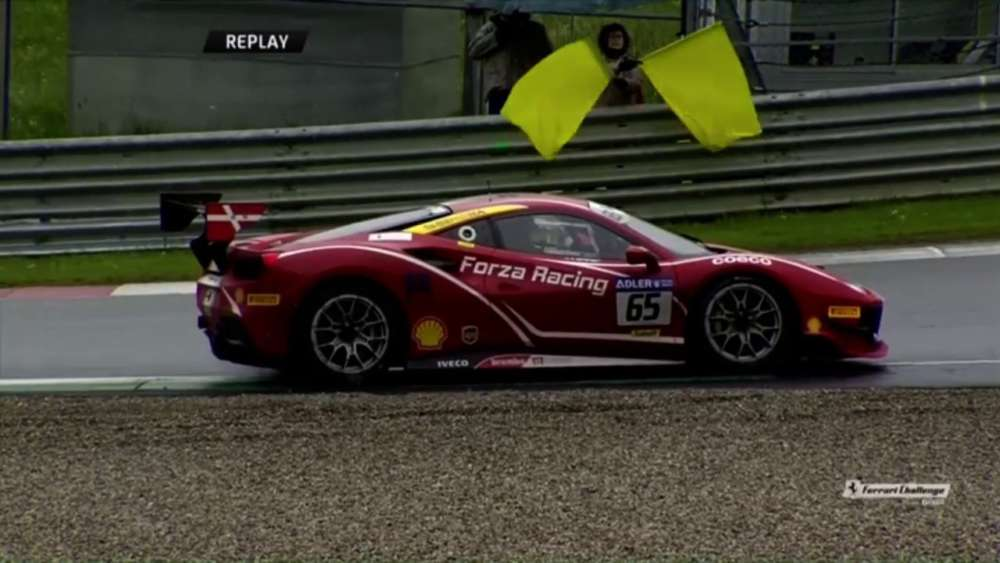Ferrari Challenge Europe 2019. Qualifying 2 Red Bull Ring. Spins_5ccead235afb4.jpeg