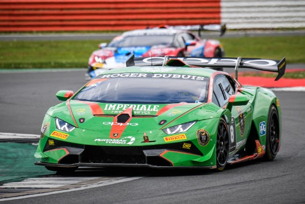 IMPERIOUS IMPERIALE TAKE DOMINANT LAMBORGHINI SUPER TROFEO EUROPE ONE-TWO IN SILVERSTONE RACE 2