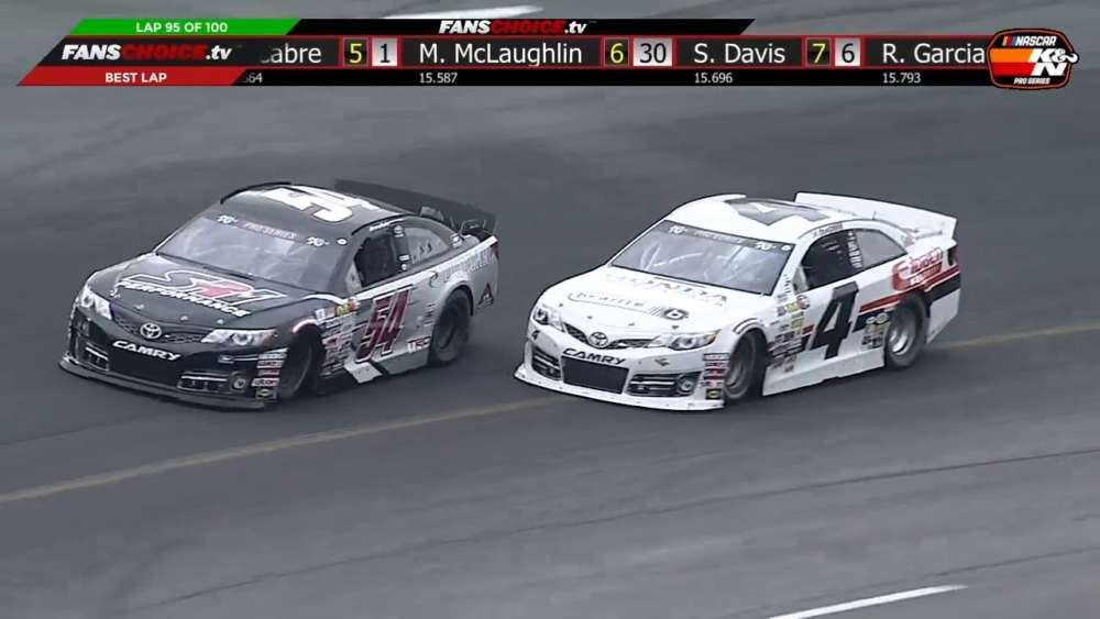 NASCAR K&N Pro Series East 2019. Race 1 South Boston Speedway. Last Laps_5ccefa759e9fa.jpeg