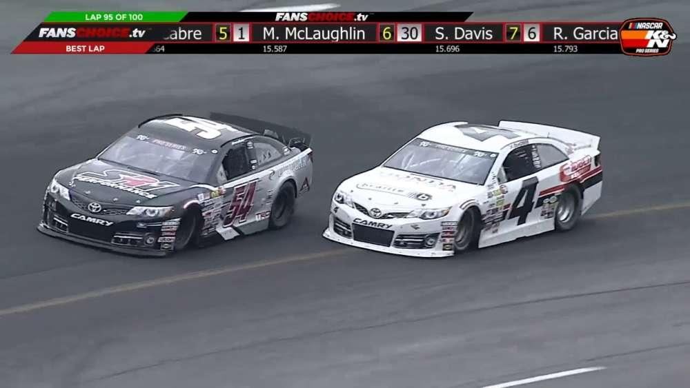 NASCAR K&N Pro Series East 2019. Race 1 South Boston Speedway. Last Laps_5ccefa759e9fa.jpeg