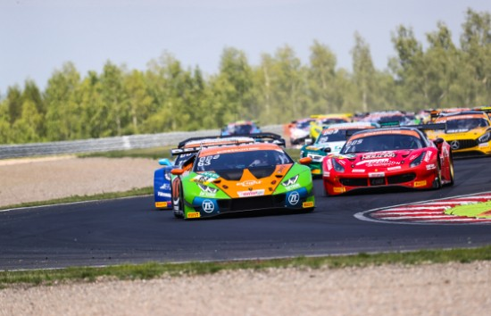 TWO ADAC GT MASTERS PODIUMS FOR GRT GRASSER RACING AT MOST