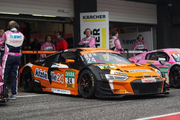 VICTORY AND PODIUM IN ADAC GT MASTERS JUNIOR CLASS FOR BWT  MOTORSPORT AT MOST