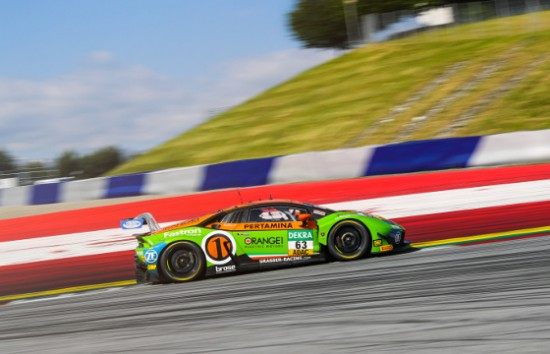 GRT GRASSER IN THE POINTS WILL ALL THREE CARS IN SUNDAY'S ADAC GT MASTERS RACE AT RED BULL RING
