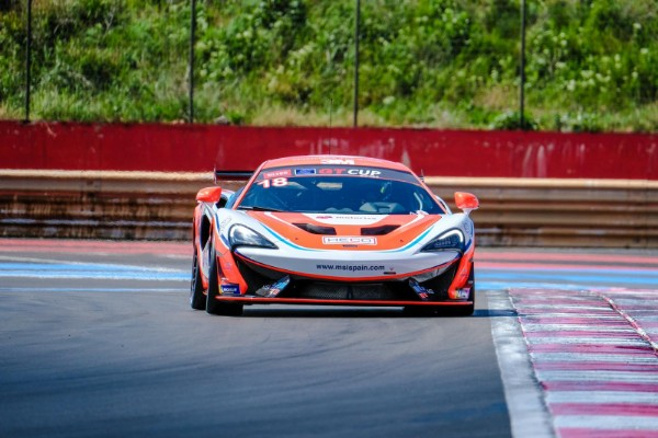 GUILLEM PUJEU IN HIS FIRST GT PODIUM HUNT AT SPA-FRANCORCHAMPS