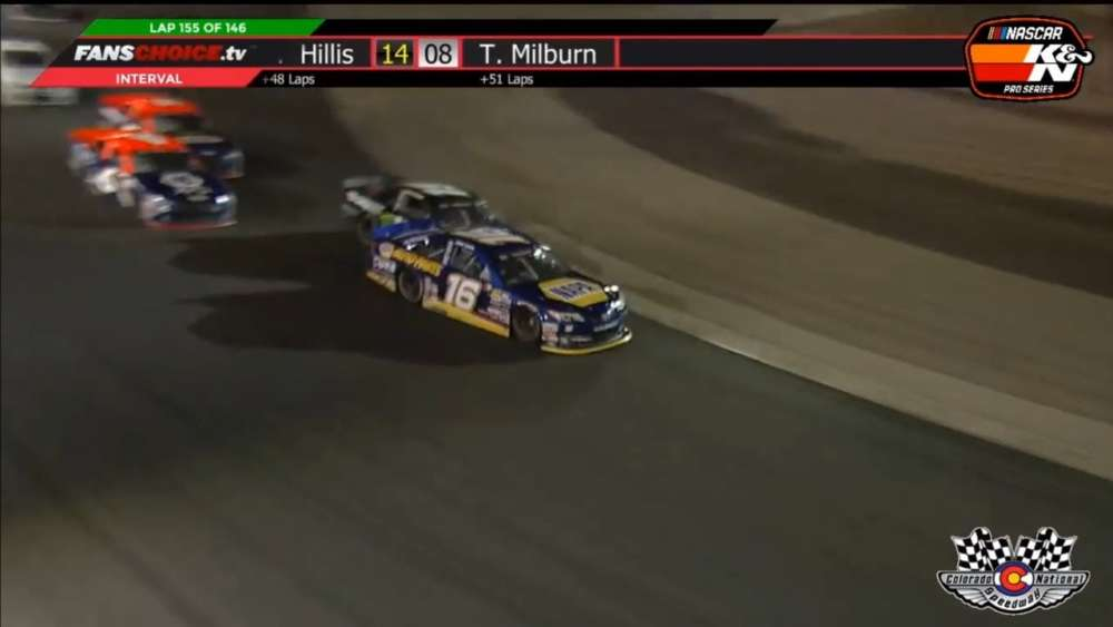 NASCAR K&N Pro Series West 2019. Colorado National Speedway. Last Laps Battle for Win_5cff0aa6cf7ed.jpeg
