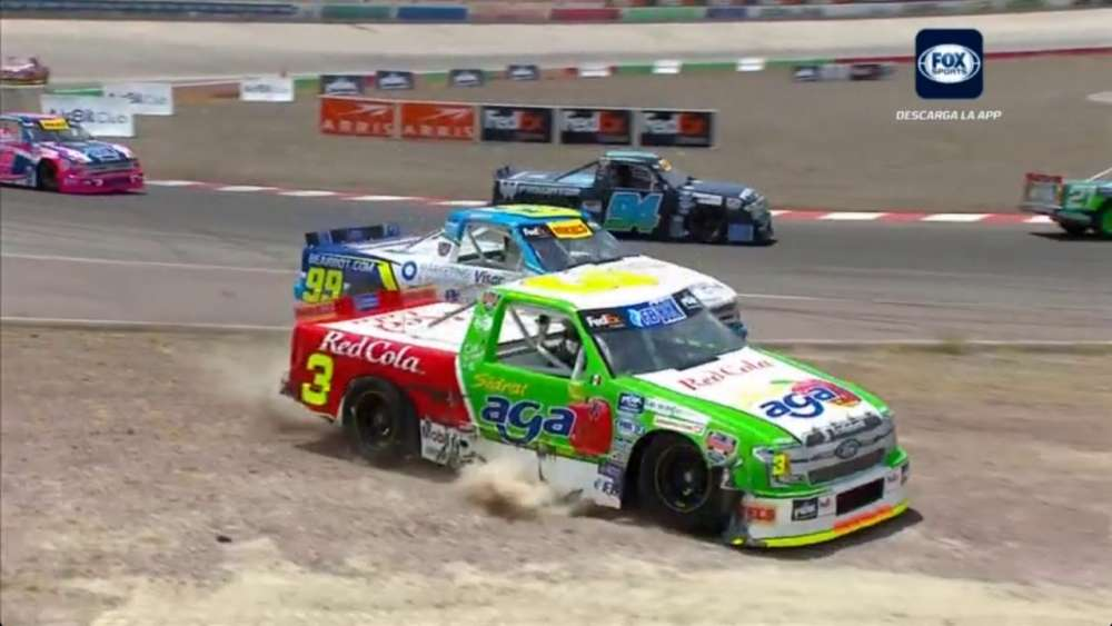 NASCAR Mexico Series (+ Support Races) 2019. Autódromo Aguascalientes. All Crashes & Fails_5d011c2e1e793.jpeg