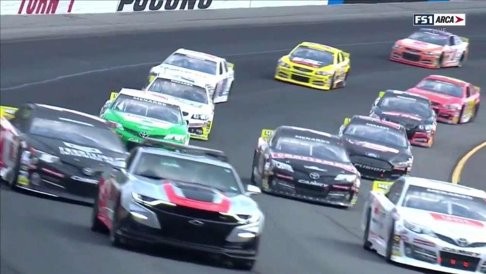 ARCA Menards Series 2019. Pocono Raceway. Full Race_5d3f687525d63.jpeg
