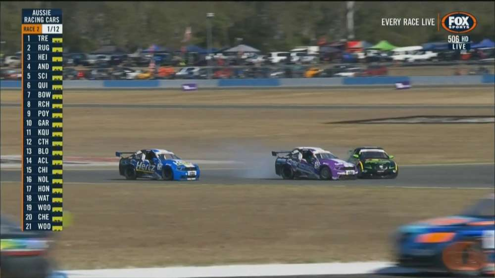 Aussie Racing Cars 2019. Race 2 Queensland Raceway. Multiple Collide_5d3d81d706d06.jpeg