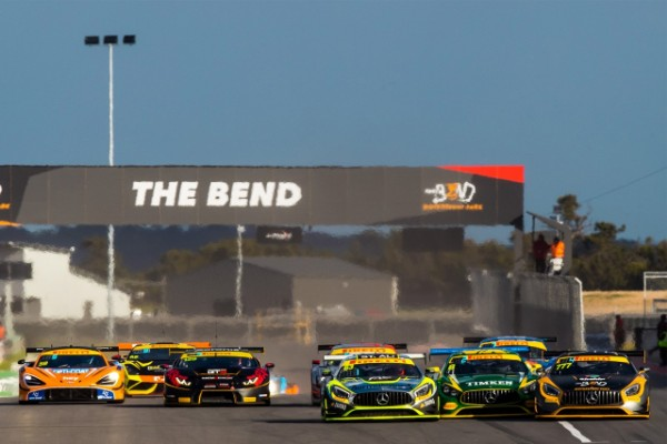 AUSTRALIAN GT VICTORY TO VAN GISBERGEN AND TALBOT AT THE BEND