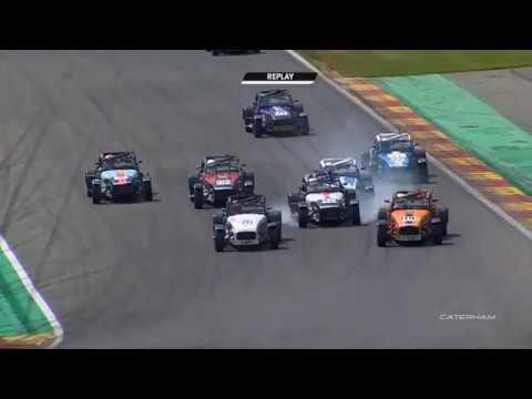 Caterham 270R/RS 2019. Race 2 Circuit de Spa-Francorchamps. Multiple Crash_5d347e596bd4a.jpeg
