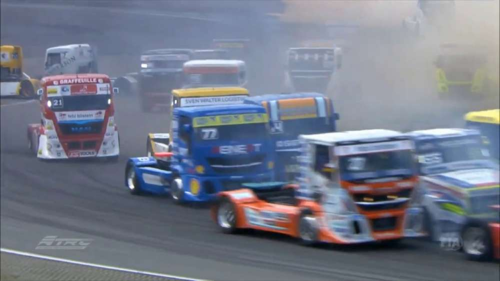 ETRC 2019. Race 3 Nürburgring. Start Crashes_5d347e6a0c2db.jpeg