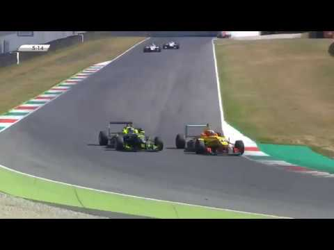 F2000 Italian Trophy 2019. Race 2 Autodromo del Mugello. Sandro Zeller Crash_5d35b2b38b6e8.jpeg