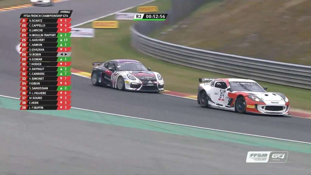 GT4 France 2019. Race 2 Circuit de Spa-Francorchamps. Valentin Simonet Crash_5d3c01686522e.jpeg