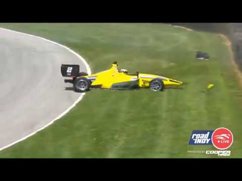 Indy Lights 2019. Race 1 Mid-Ohio Sports Car Course. Toby Sowery Crash_5d3cdde2343d6.jpeg