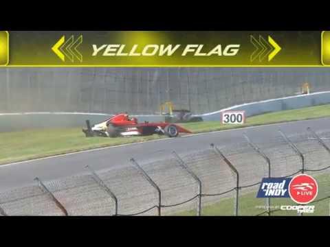 Indy Pro 2000 2019. Race 1 Mid-Ohio Sports Car Course. Danial Frost & Jacob Abel Crash_5d3cc07d4df05.jpeg