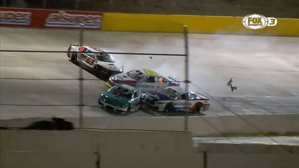 NASCAR Mexico Series (+ Support Race) 2019. El Dorado Speedway. Crashes Compilation_5d2f801040ff6.jpeg