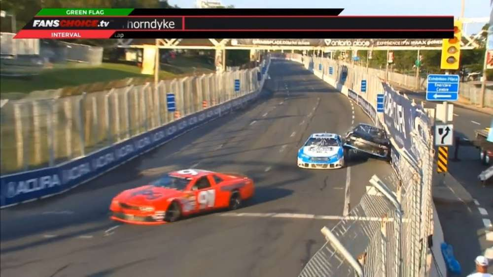 NASCAR Pinty's Series 2019. Grand Prix Toronto. Crashes Compilation_5d2afca219235.jpeg
