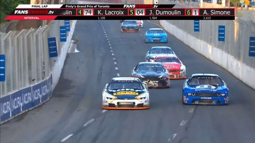 NASCAR Pinty's Series 2019. Grand Prix Toronto. Final Laps_5d2af89591886.jpeg