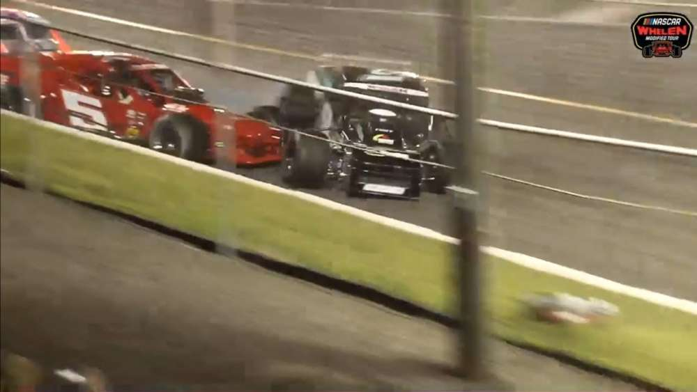 NASCAR Whelen Modified Tour 2019. Riverhead Raceway. Final Laps_5d223b1c899c4.jpeg
