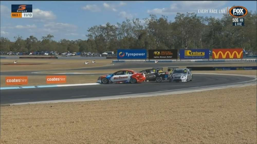 Super3 Series 2019. Race 1 Queensland Raceway. Multiple Crash_5d3d87a27eedb.jpeg