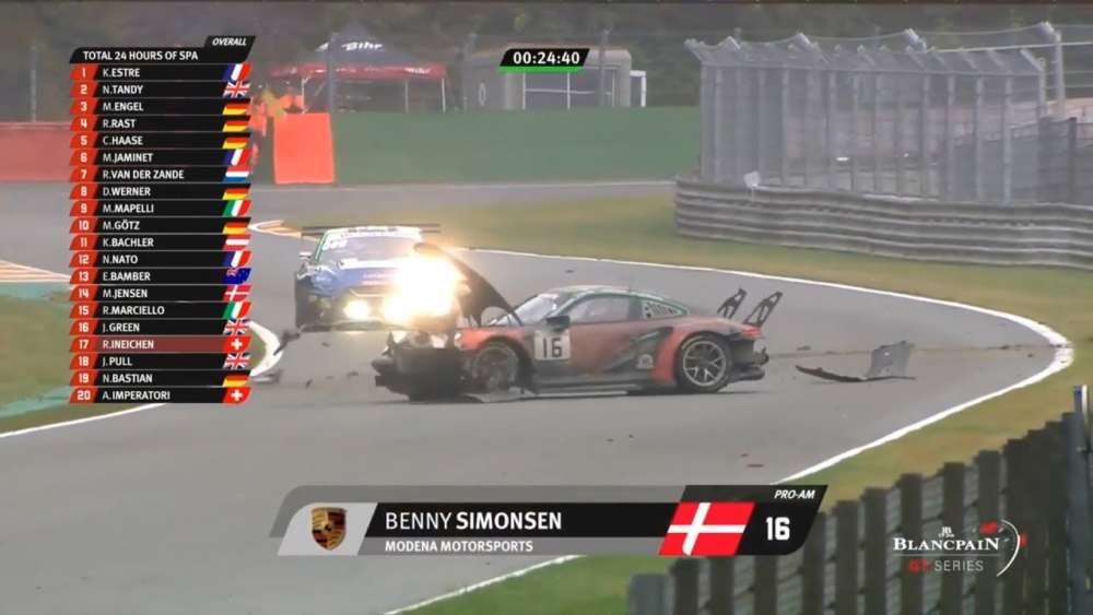 Total 24h of Spa 2019. Race. Benny Simonsen Big Crash_5d3e09c2d77d1.jpeg