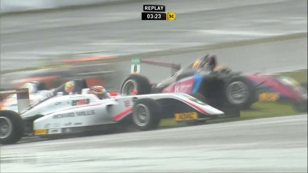 ADAC Formel 4 2019. Race 3 Nürburgring. Multiple Crash_5d5977ce678ef.jpeg