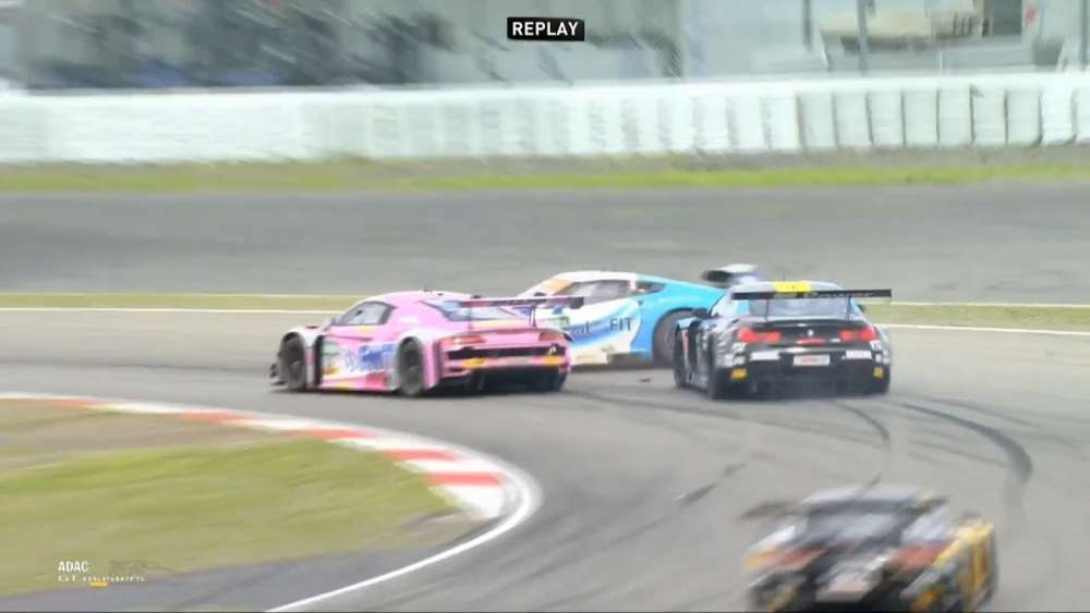 ADAC GT Masters 2019. Race 2 Nürburgring. Multiple Collide_5d593f58a64ef.jpeg