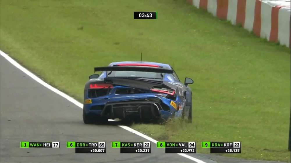 ADAC GT4 Germany 2019. Race 2 Nürburgring. Patricija Stalidzane Crash_5d5964d759b74.jpeg