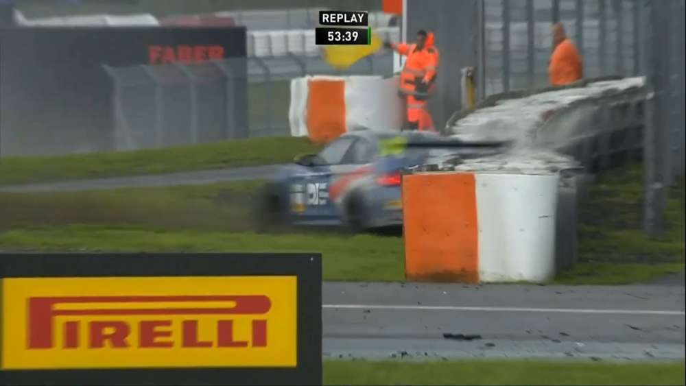 ADAC GT4 Germany 2019. Race 2 Nürburgring. Spins | Gabriele Piana Crash_5d59594a430d9.jpeg