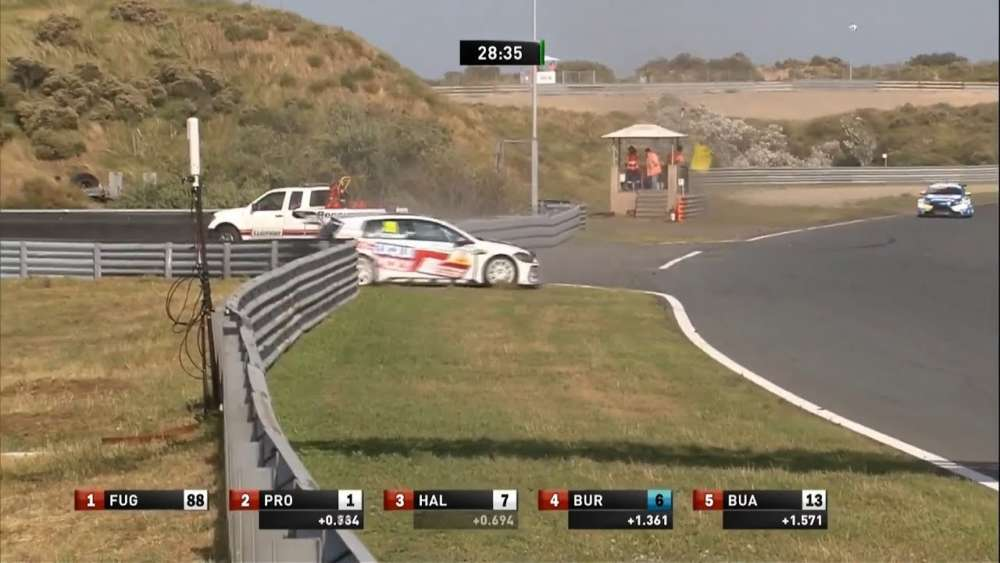 ADAC TCR Germany 2019. Race 1 Circuit Park Zandvoort. Mitchell Cheah Min Jie Crash_5d4ee5b511ccb.jpeg