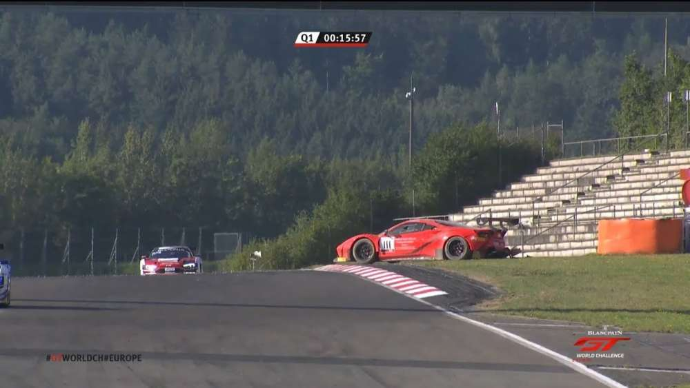 Blancpain GT World Challenge Europe 2019. Qualifying 1 Nürburgring. Rory Penttinen Crash_5d6a23b721d94.jpeg