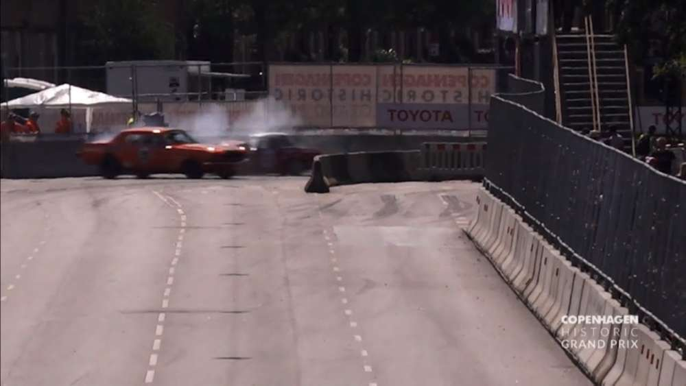Historisk Motor Sport Danmark (71) 2019. Race 1 Copenhagen Historic Grand Prix. Hard Crash_5d52d5ac1d050.jpeg